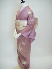 付け下げ訪問着 レンタル 東京 ピンク 結婚式