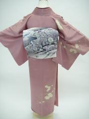 付け下げ訪問着 レンタル 東京 七五三 結婚式